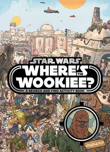 61m x6RujhL Wheres the Wookiee Search and Find Book