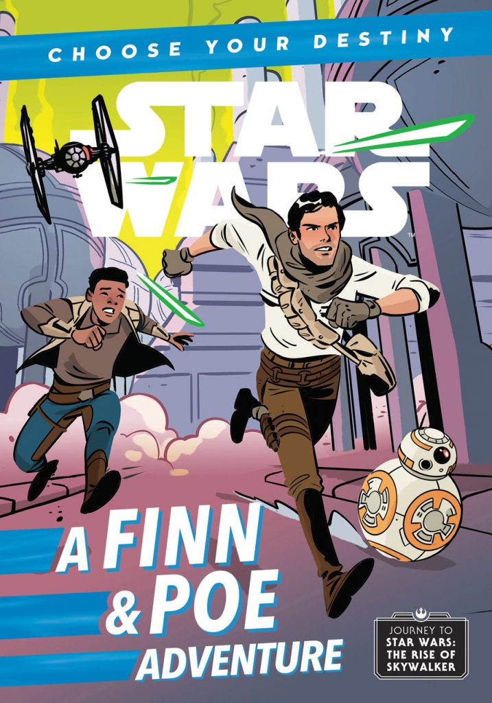sw choose your destiny 4 finn   poe disney lucasfilm press08 717x1024 Out Today: Star Wars: A Finn & Poe Adventure