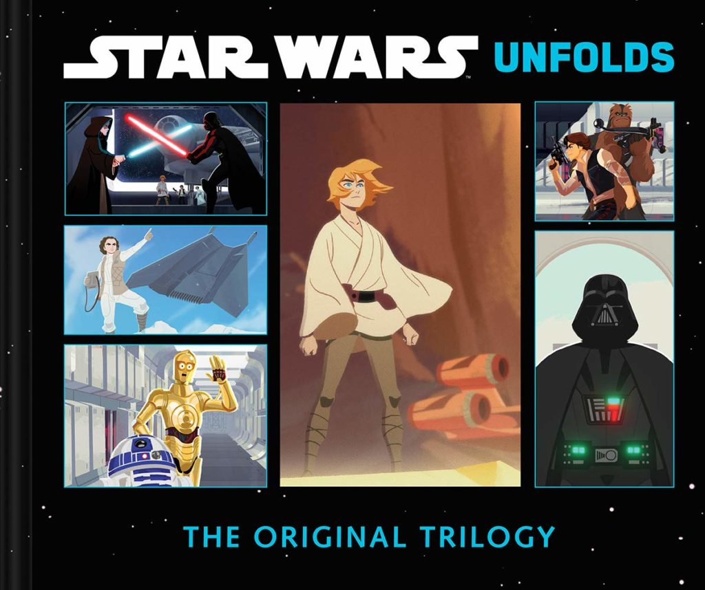 715RdF6liTL 1024x858 Out Today: Star Wars Unfolds: The Original Trilogy