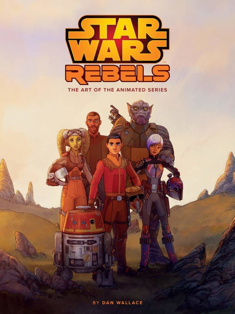 71YWbJRWRL 768x1024 Out Today: The Art of Star Wars Rebels