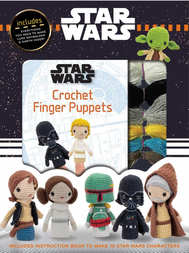 81kZZx3PSnL 766x1024 Out Today: Star Wars: Crochet Finger Puppets