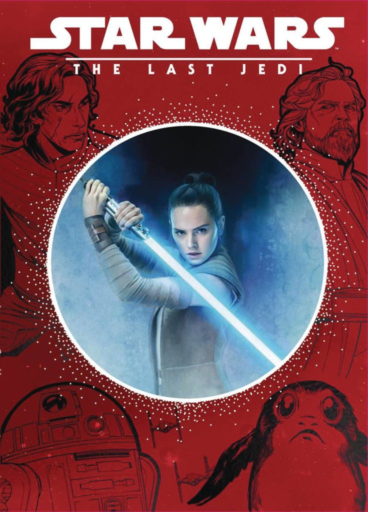 STL162426 736x1024 Out Today: Star Wars: The Last Jedi (Disney Die Cut Classics)