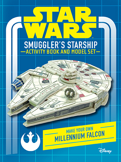 Star Wars: Smuggler's Starship Activity Book and Model | Insight Editions