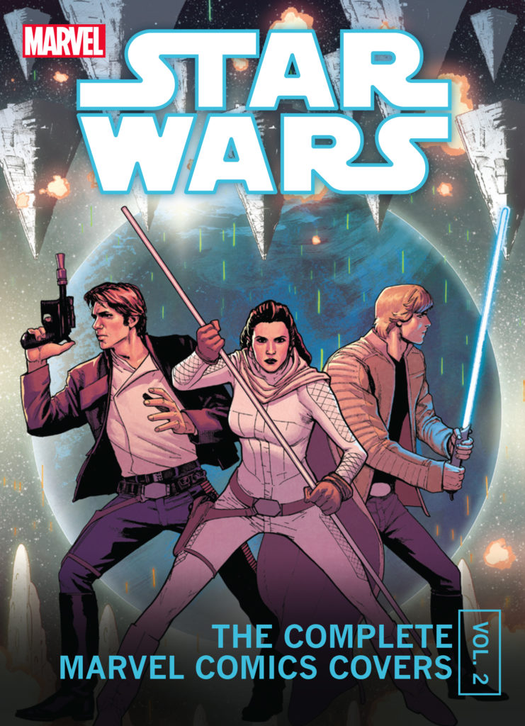 Star Wars: The Complete Marvel Comics Covers Mini Book, Vol. 2   Insight Editions