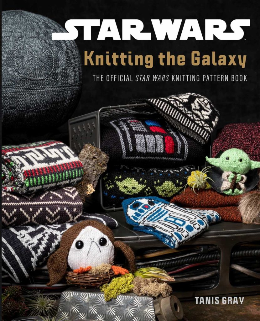 81oBhGPRHL 830x1024 Out Today: Star Wars: Knitting the Galaxy: The Official Star Wars Knitting Pattern Book