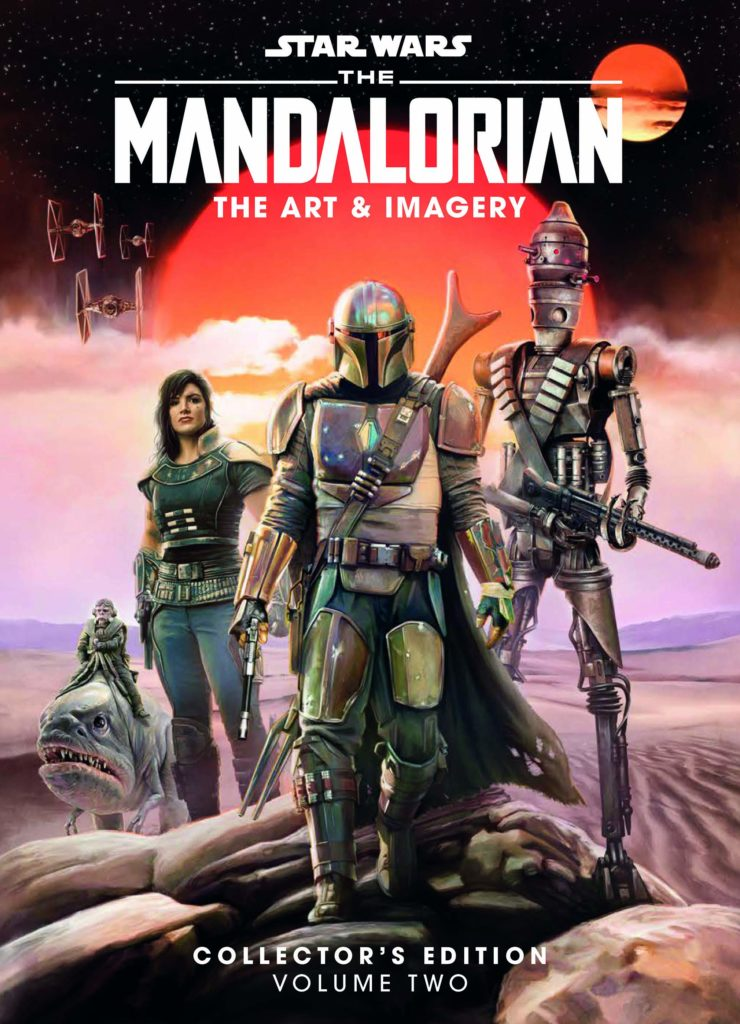 81mCFA eryL 740x1024 Out Today: Star Wars: The Mandalorian: The Art & Imagery Collector's Edition Vol. 2
